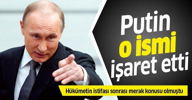 Putin başbakanlık görevi için o ismi önerdi