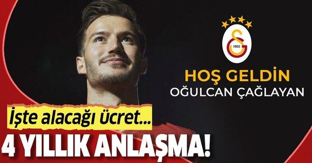 Galatasaray genç oyuncu ile anlaşmaya vardı