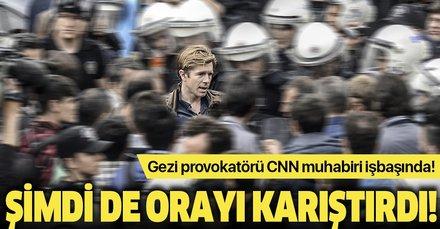 Gezi provokatörü CNN muhabiri Ivan Watson şimdi de Hong Kong'da karışıklık peşinde!