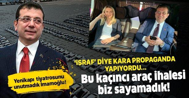 CHP'li İBB yönetimi koltuk ısıtmalı araç istiyor!