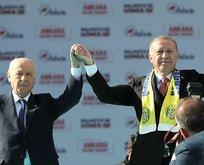 Ankara'dan 450 bin kişilik büyük mesaj