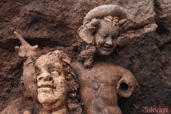 Ordu Kurul Kalesinde 2100 yıllık heykeller bulundu
