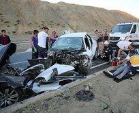 Erzincanda katliam gibi kaza!