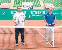 Bu ülkenin evlatlarına tenisi sevdireceğiz
