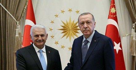Başkan Erdoğan, TBMM Başkanı Yıldırım'ı kabul etti