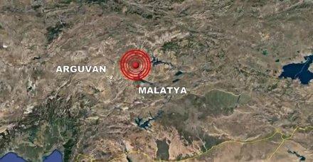 Son dakika: Malatya Arguvan'da korkutan deprem! 15 Nisan Kandilli son depremler