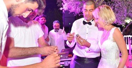 Oyuncu Nihan Tarhan sevgilisi Ali Rıza Şahenk ile evlendi