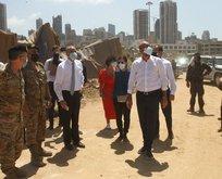 AB Konseyi Başkanı Beyrut'ta Lübnanlılara söz verdi