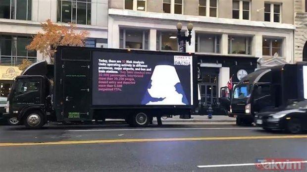 ABD'de Erdoğan alarmı! Washington sokaklarında dikkat çeken görüntü