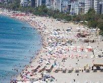 1 haftada 180 bin turist geldi