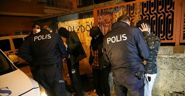 Adana'da hareketli gece! Onlar kaçtı polis kovaladı