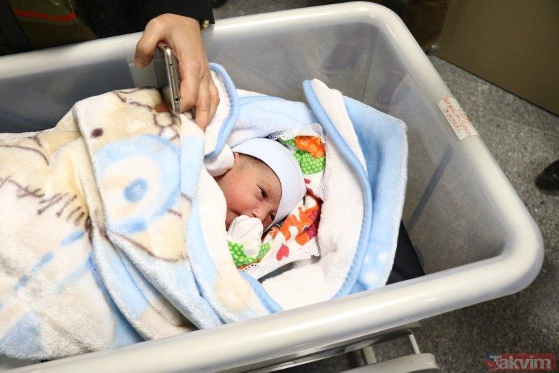 Kayseri'de yeni yılın ilk bebeği 'Recep Tayyip' oldu