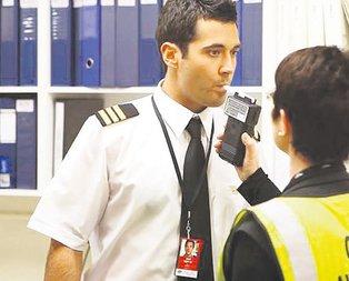 Pilotlara alkol testi