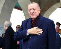 Erdoğan, cuma namazını Mimar Sinan Camisi'nde kıldı