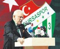 Bursaspor'da Ali Ay yeniden başkan seçildi