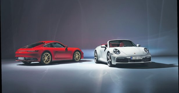 2 yeni Porsche sahnede