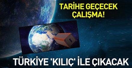 Türkiye uzay için bir adım daha attı! KILIÇSAT ismiyle yeni bir Ar-Ge çalışması başlatıldı