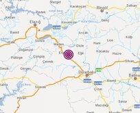 Diyarbakır ve çevre illerde hissedilen deprem