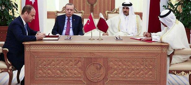 Katarda imzalar atıldı