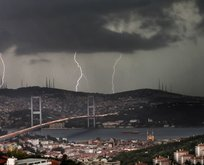 Meteoroloji'den son dakika gök gürültülü sağanak uyarısı