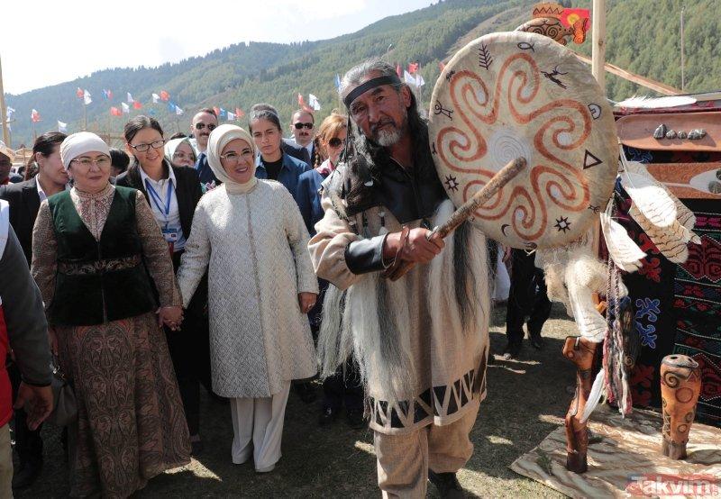 Emine Erdoğan Kırçın Yaylasını ziyaret etti