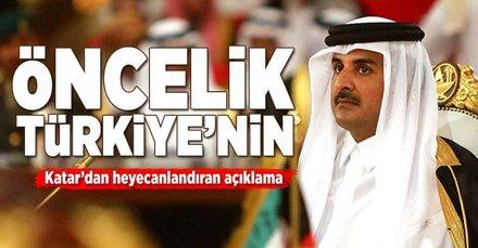 Heyecanlandıran açıklama! Öncelik Türkiye'nin