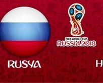 Rusya-Hırvatistan maçı saat kaçta?