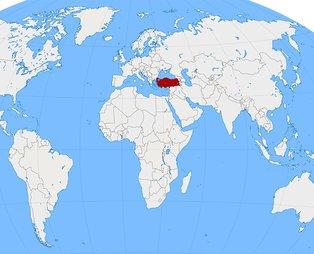 Bakın Türkiye'yi nasıl tanıtıyorlar! O harita yayınlandı!