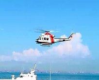 Sahil Güvenlik'ten kurtarma operasyonu