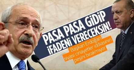 Başkan Erdoğan'dan Kemal Kılıçdaroğlu'nun siyasi cinayetler iddiası için yeni dilekçe