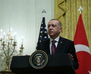Başkan Erdoğan'dan haddini aşan muhabire tokat gibi yanıt: Benim partimin 50'yi aşkın Kürt milletvekili vardır