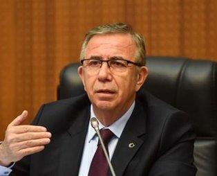 CHP'li Mansur Yavaş'tan skandal! Yönettiği belediyeye dava açtı