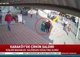 Karaköy'de başörtülü kadınlara saldıran provokatör gözaltına alındı