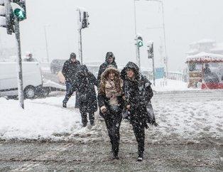Meteoroloji'den hava durumu uyarısı: Donacağız! İstanbul'da bugün kar yağacak mı? İşte 23 Şubat hava durumu