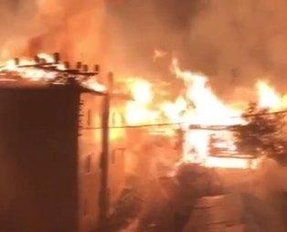 Son dakika: Kastamonu'nun 14 haneli Tepeharman köyünde yangın!