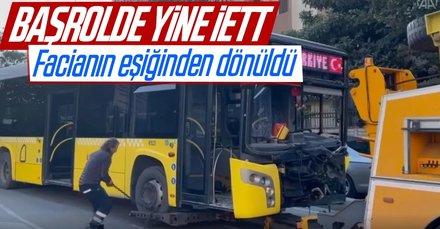 İstanbul'da İETT kazası: Çok sayıda yaralı var