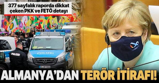 Almanya'dan PKK itirafı