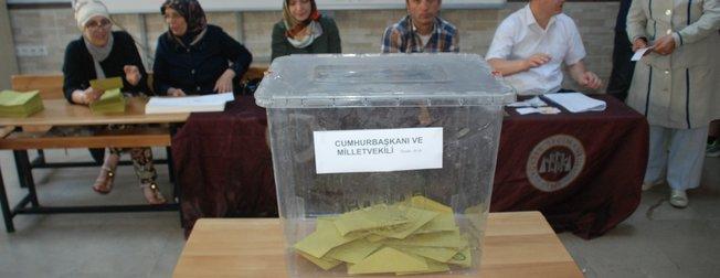 Türkiyeden seçim manzaraları