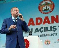 Erdoğan: Terör örgütlerinin kökünü kurutacağız