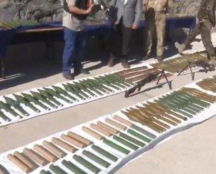 İşte Kıran Operasyonu'nda ele geçirilen silahlar