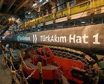 TürkAkım'da gaz sevkiyatı resmen başladı!