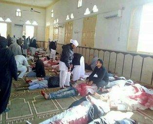 Mısırda camiye alçak saldırı!