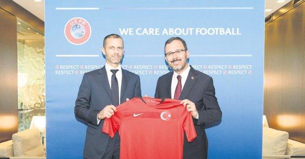 UEFA'ya büyük çıkarma