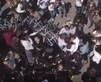 İzinsiz gösteri yapan avukatlar polise saldırdı