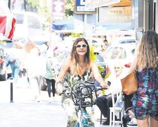 Boğaz'da bisiklet turu