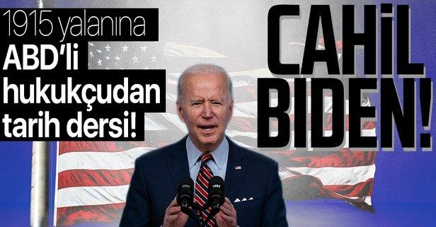 Biden'ın 24 Nisan açıklamasını sert tepki