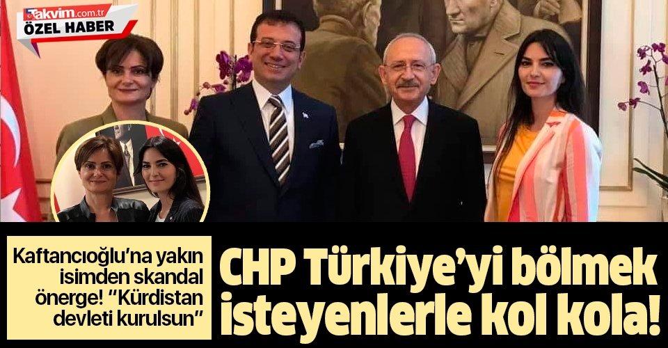 """CHP'li Canan Kaftancıoğlu'nun yakın arkadaşı Sultan Kayhan'dan skandal önerge! """"Kürdistan devleti kurulsun"""""""