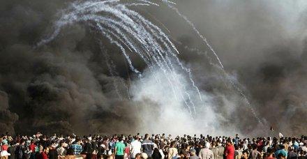 İsrail askerleri Gazze sınırında 2 Filistinliyi yaraladı