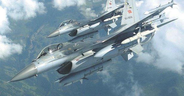 Irak kuzeyine hava harekatı: 2 terörist etkisiz hale getirildi