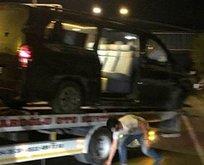 Alanyasporlu futbolcuları taşıyan minibüs devrildi